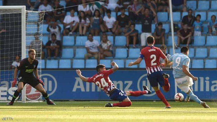 أتلتيكو مدريد يقع في فخ سلتا فيغو