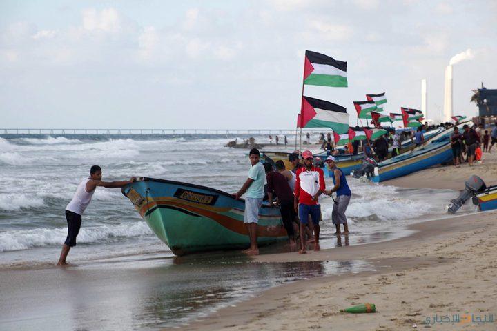 انطلاق المسير البحري السادس لكسر الحصار عن غزة