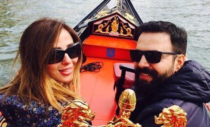 تيم حسن يُغازل زوجته وفاء الكيلاني برسالة خاصة