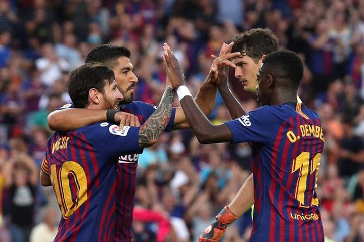 برشلونة يستعرض أمام هويسكا بثمانية أهداف