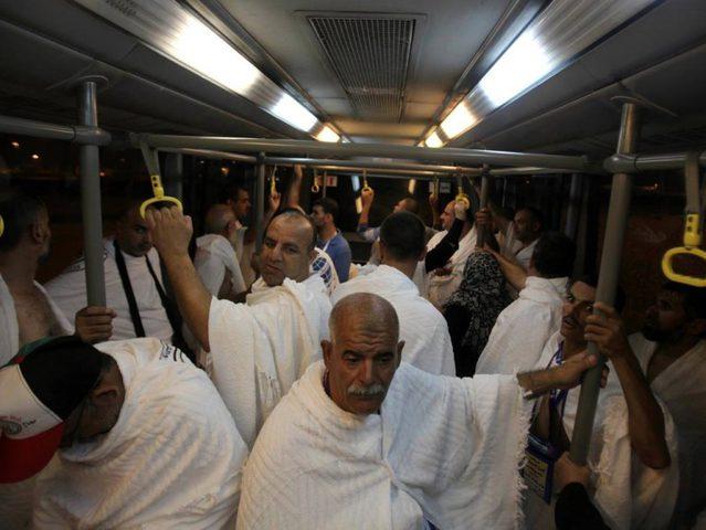 اكتمال وصول حجاج قطاع غزة بسلام