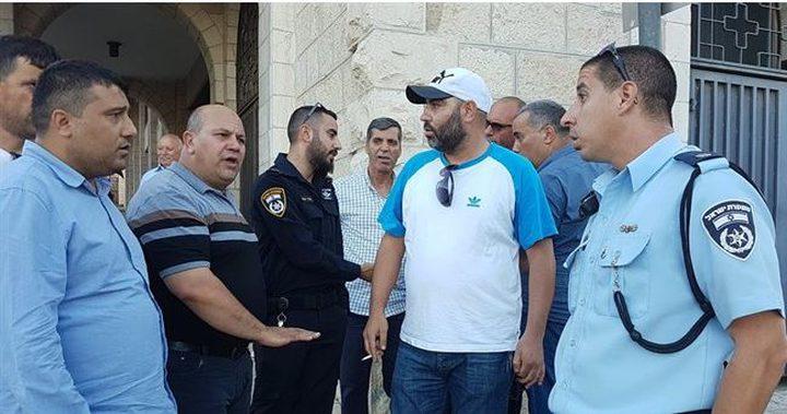وقفة في القدس رفضا لاجتماع دعت اليه سفارة امريكا