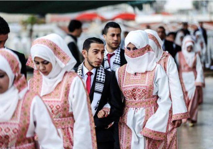 تحت رعاية الرئيس.. حفل زفاف جماعي بنابلس
