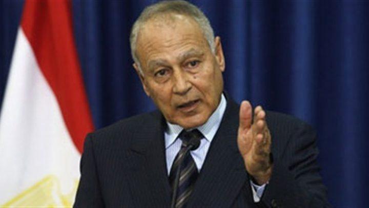 أبو الغيط يشيد بقرار باراجواي نقل سفارتها من القدس