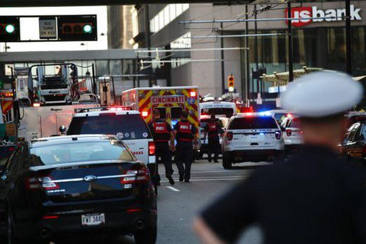 4 قتلى في اطلاق نار داخل مصرف في سينسيناتي