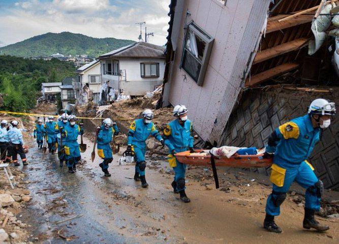 ارتفاع عدد ضحايا زلزال اليابان إلى أكثر من 100 شخص