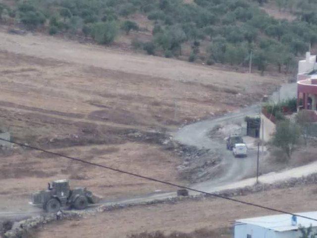 مواجهات بين الشبان وقوات الاحتلال جنوب نابلس