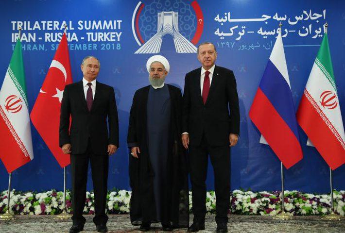 انطلاق القمة الثلاثية حول سوريا في طهران