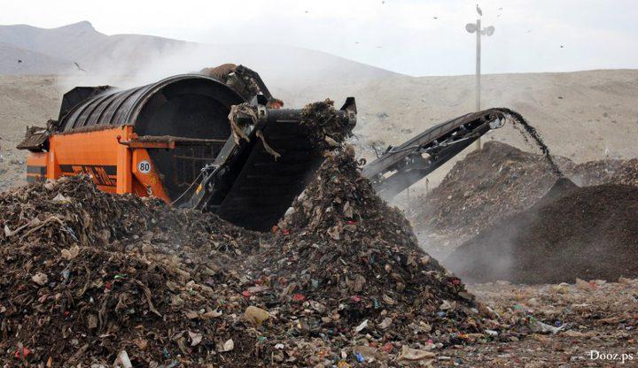 الاحتلال يغلق مكب نفايات جنوبي نابلس