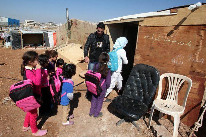 """""""يونسيف"""" تقلص البرامج الدراسية للسوريين في الأردن"""