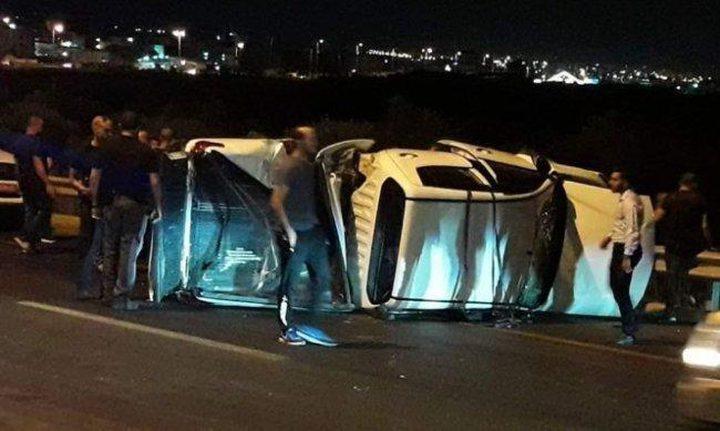 3 مصابين بحادث سير في الطيبة بالداخل