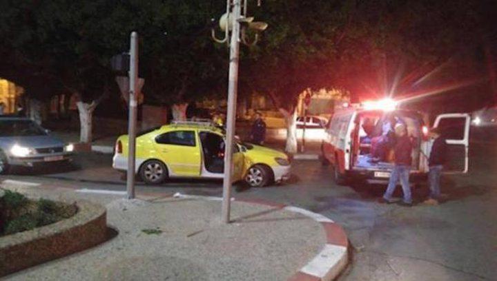 إصابة 3 مواطنين جراء حادث سير في نابلس