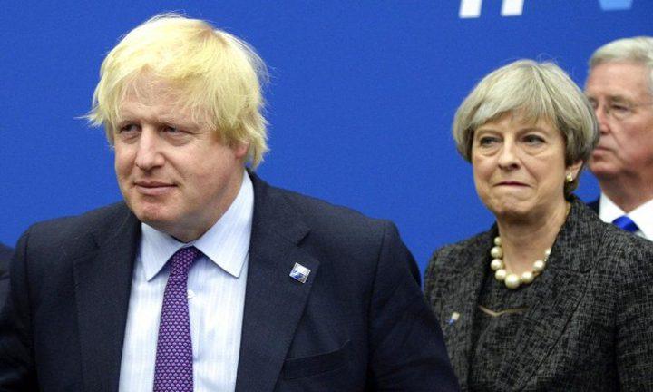 جونسون:خطة ماي للخروج من الاتحاد الأوروبي انتحارية