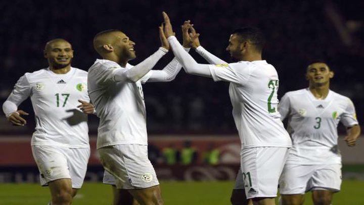 الجزائر تكتفي بالتعادل مع غامبيا