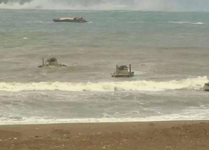 اختتام التدريبات الروسية الضخمة في مياه المتوسط