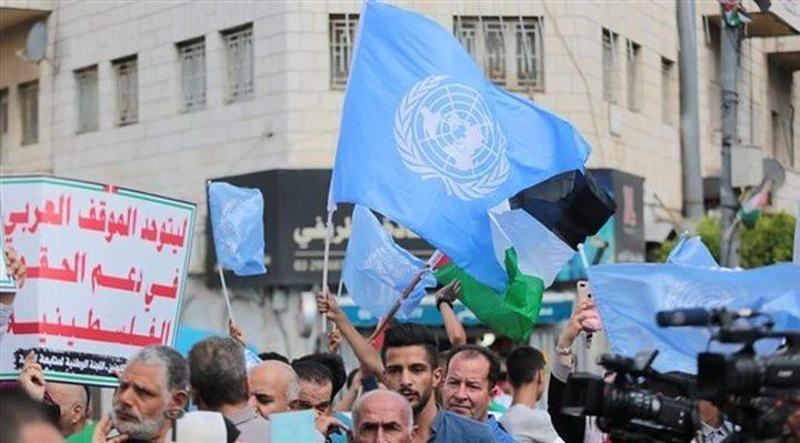 اللجان الشعبية تستنكر منعها الاحتجاج أمام الأونروا