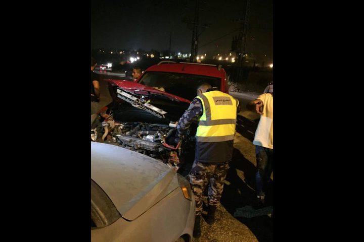 7 إصابات في حادث سير شمال البيرة