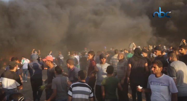 شهيدان و395 إصابة حصيلة جمعة الرابعة والعشرين
