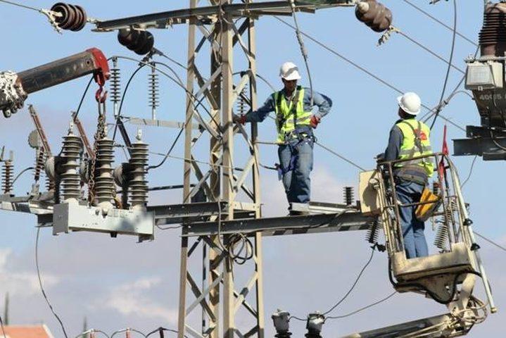 جدول الكهرباء في غزة اليوم الاثنين