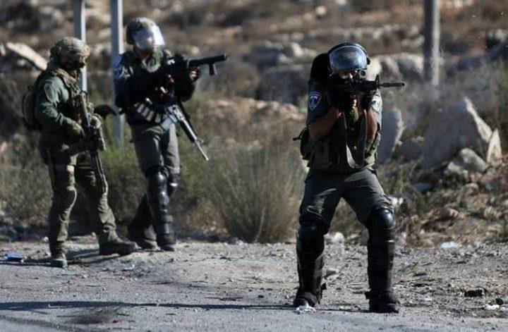إصابات جراء اقتحام الاحتلال مدرسة في الخليل