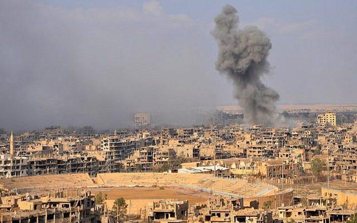 اتهام أمريكا باستخدام الفسفور الأبيض في سوريا