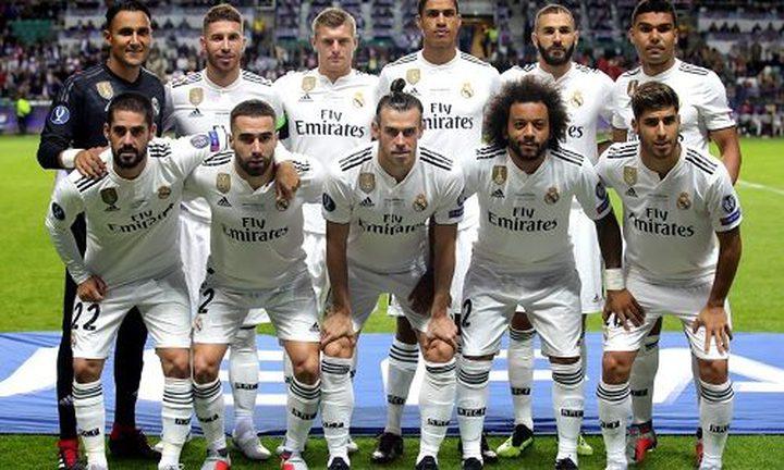 جميع لاعبي الريال في قائمة المرشحين لتشكيلة 2018