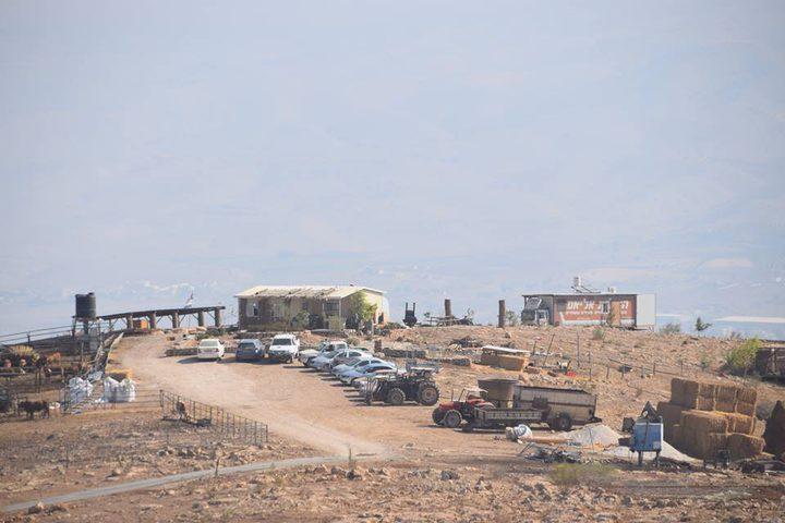 مستوطنون ينصبون كرفانات جديدة في خربة السويدة