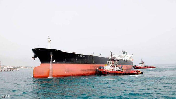 حيلة إيران في تخزين النفط