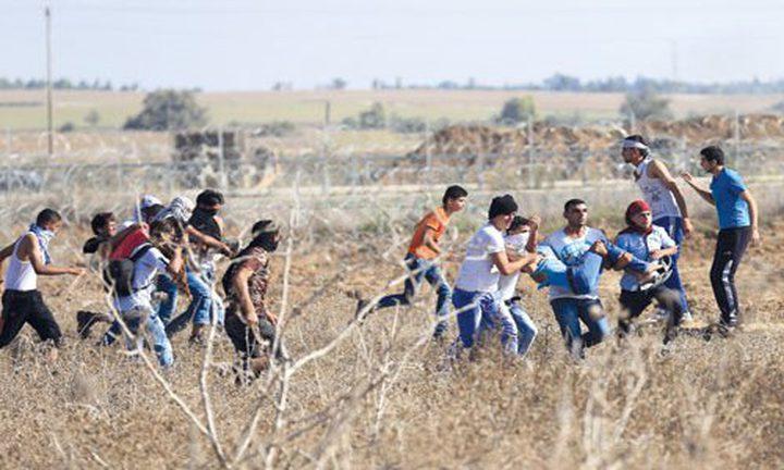 إصابة مواطن برصاص الاحتلال شمال القطاع