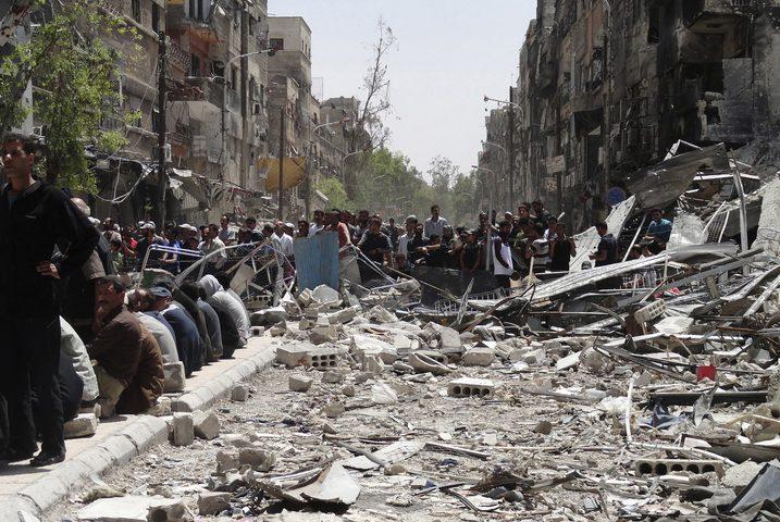 ماذا علقت المنظمة على إعادة إعمار مخيم اليرموك؟