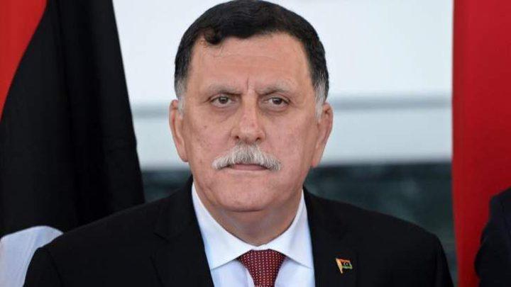 السراج: قوى خارجية تحارب استقرار ليبيا