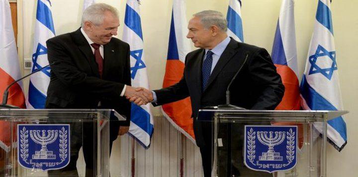 التشيك تُقرّر نقل سفارتها من تل أبيب إلى القدس