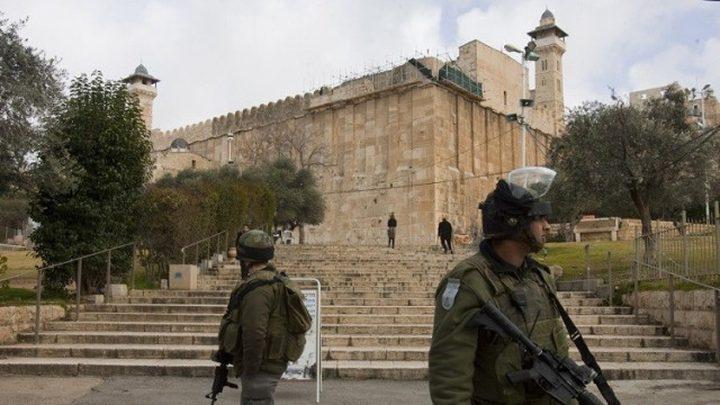 اعتقال طفل بدعوى حيازته سكينا قرب الحرم الإبراهيمي