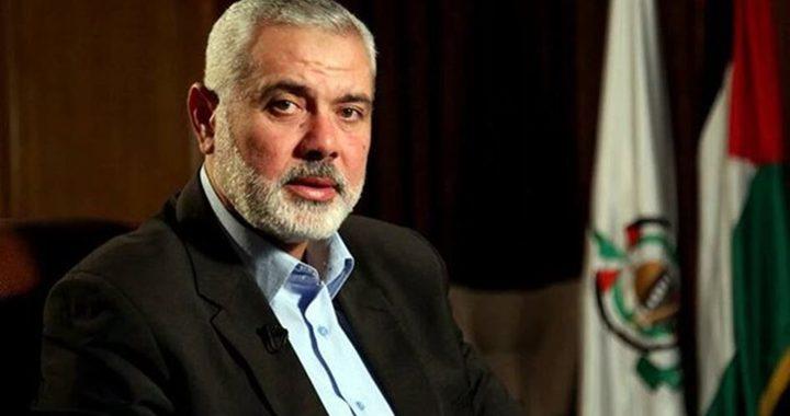 """""""إسرائيل"""" تقدم دعوى ضد هنية في محكمة الجنايات"""