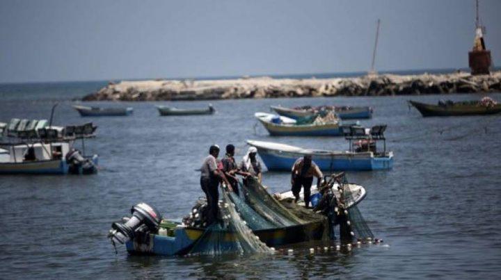 إسرائيل تدرس تقليص مساحة الصيد ببحر القطاع