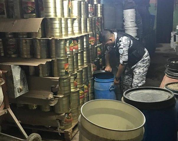 ضبط اكثر من 51 طن مواد غذائية فاسدة
