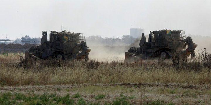 توغل وتجريف جنوب قطاع غزة