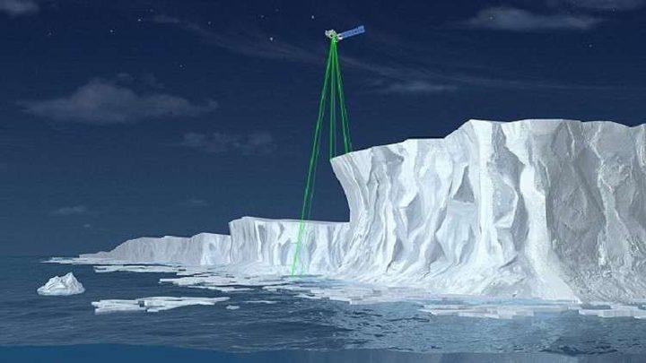 ليزر فضائي لقياس ذوبان جليد الأرض
