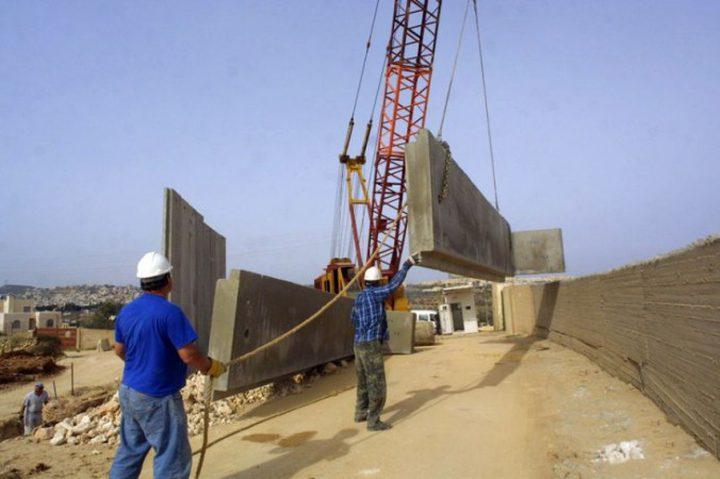 الاحتلال يبني أطول جدار خراساني حول قطاع غزة