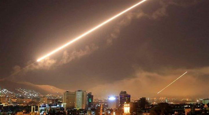 """الدفاعات السورية تتصدى لعدوان """"اسرائيلي"""" على دمشق"""