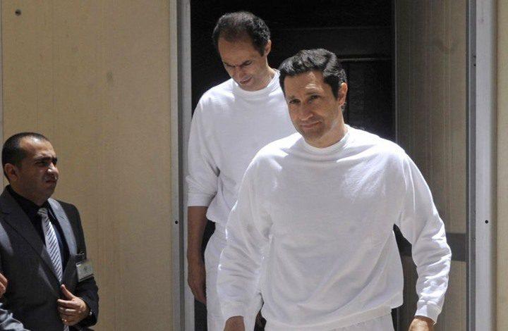 اعتقال علاء وجمال مبارك ونجل الكاتب حسنين هيكل