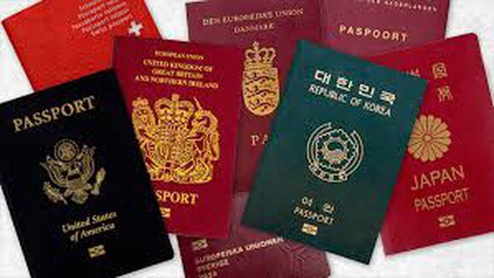 لا وجود للعرب في قائمة أقوى جوازات السفر