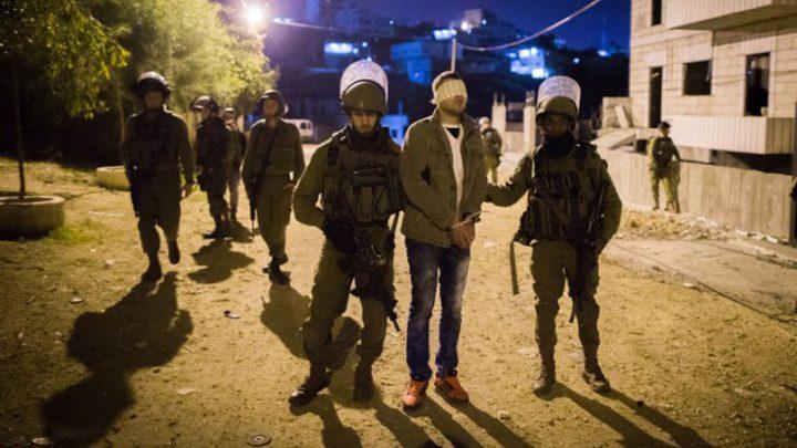 اعتقالات بمداهمات ليلية بالضفة والقدس