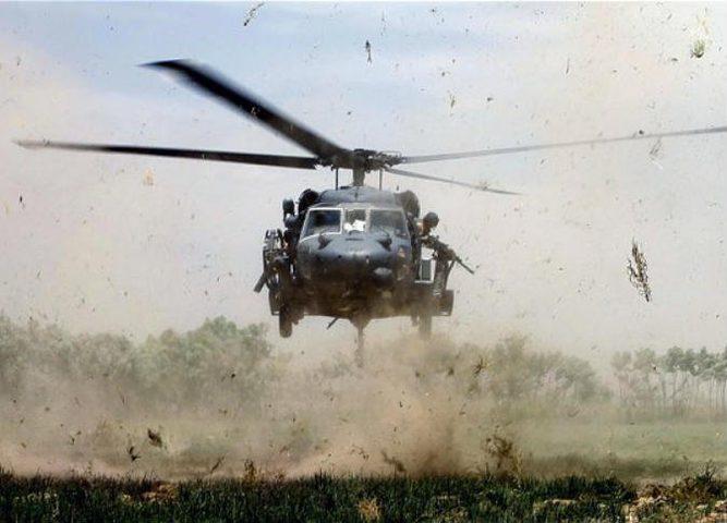 5 قتلى بتحطم مروحية في أفغانستان