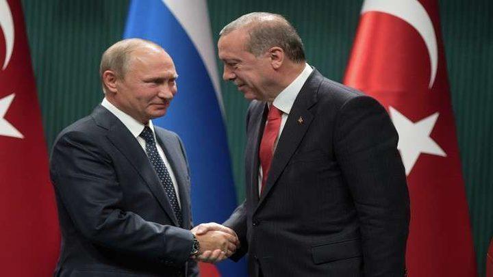 بوتين وأردوغان سيبحثان  الوضع السوري في سوتشي
