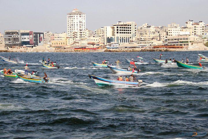 مسير بحري ثامن ينطلق من ميناء غزة غداً