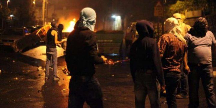 مواجهات مع الاحتلال في قلنديا وكفر عقب شمال القدس