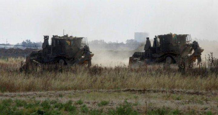 توغل محدود لجرافات الاحتلال شرق بيت حانون