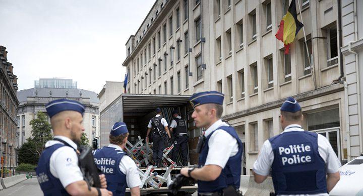 إصابة شرطي  في عملية طعن في بروكسل