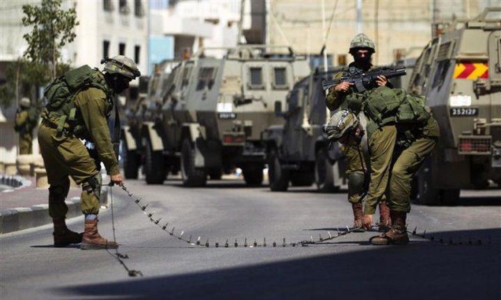 الاحتلال يغلق الضفة وغزة اعتباراً من منتصف الليلة
